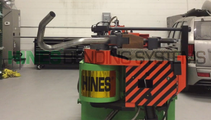 Exhaust Tubing Bender >> Mandrel Exhaust Pipe Bender For Sale Hines Bending Systems